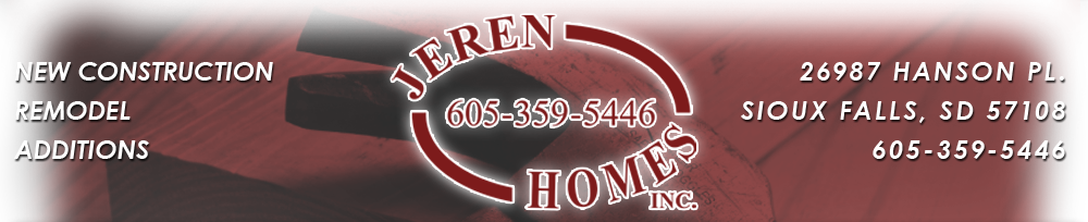 Jeren Homes Inc - Sioux Falls, SD