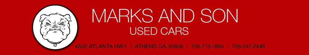 Marks and Son Used Cars - Athens, GA