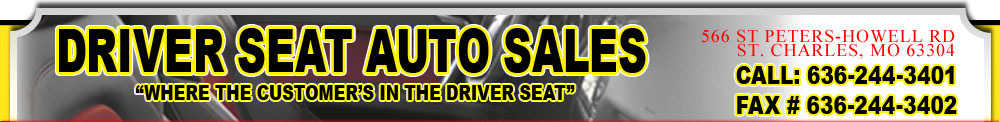 Driver Seat Auto Sales - Saint Charles, MO