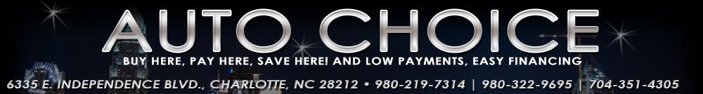 Auto Choice - Charlotte, NC