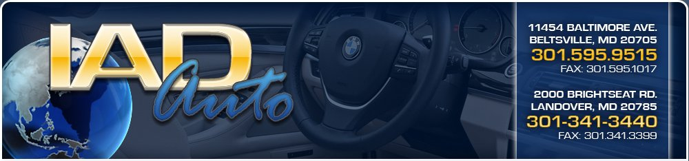 IAD Auto Sales - Landover, MD