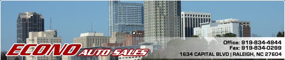 Econo Auto Sales - Raleigh, NC