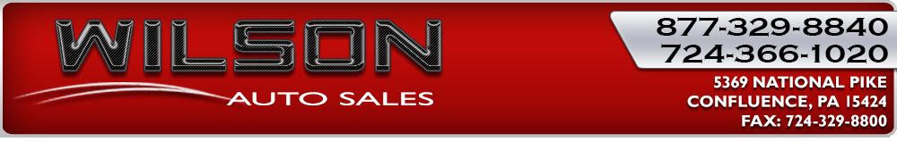 Wilson Auto Sales - Confluence, PA