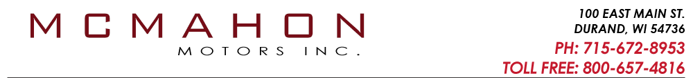 McMahon Motors, Inc. - Durand, WI