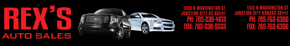 Rex's Auto Sales - Junction City, KS