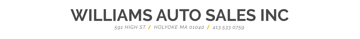 Williams Auto Sales Inc. - Holyoke, MA