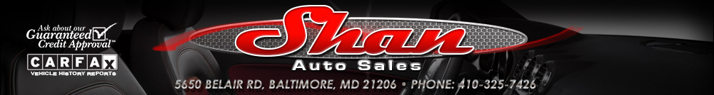 Shan Auto Sales - Baltimore, MD