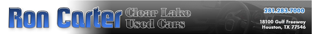 Ron Carter  Clear Lake Used Cars - Houston, TX