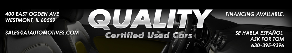 Quality Certified Used Cars - Downers Grove, IL