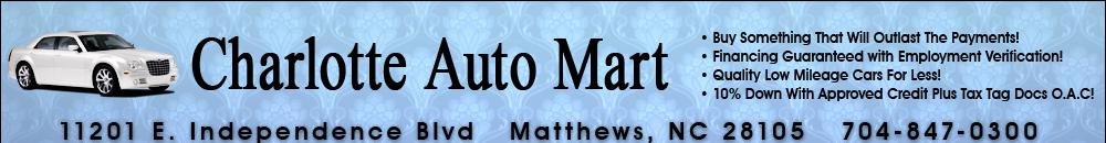 Charlotte Auto Mart - Matthews, NC