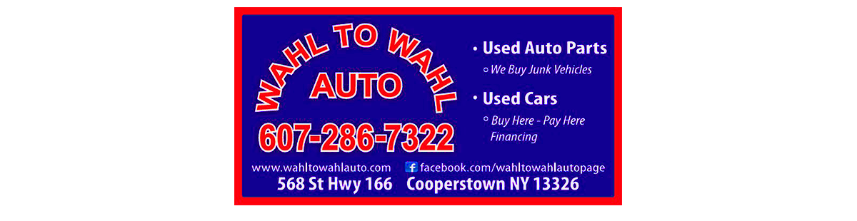 Wahl to Wahl Auto - Cooperstown, NY