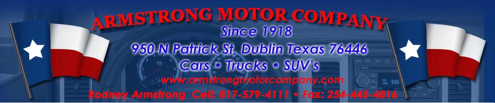 Armstrong Motor Company - Dublin, TX