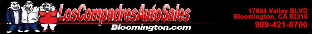 Los Compadres Auto Sales 2 - Bloomington, CA