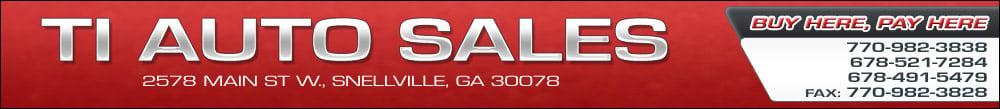TI Auto Sales - Snellville, GA
