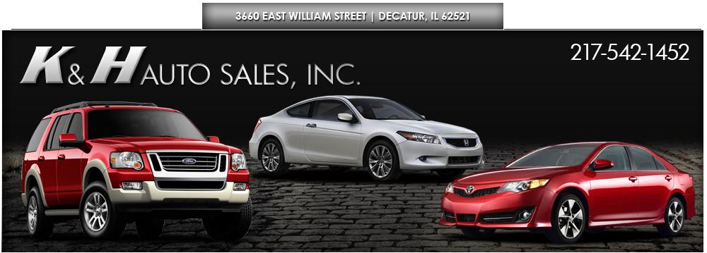 K & H Auto Sales, Inc. - Decatur, IL