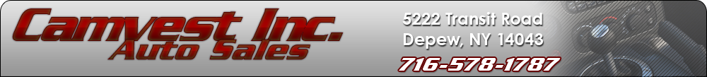 Camvest Inc. Auto Sales - Depew, NY