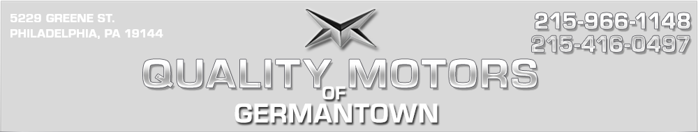 Quality Motors of Germantown - Philadelphia, PA