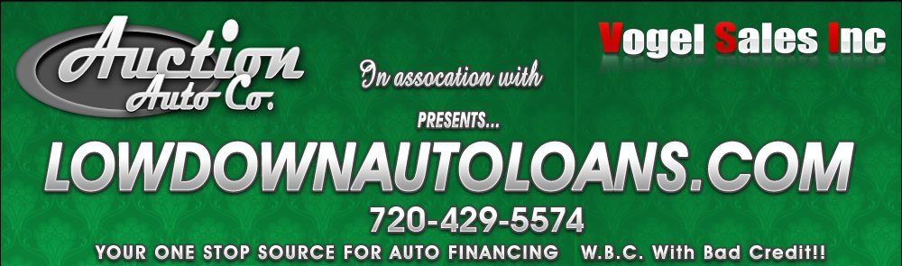 Low Down Auto Loans - Commerce City, CO