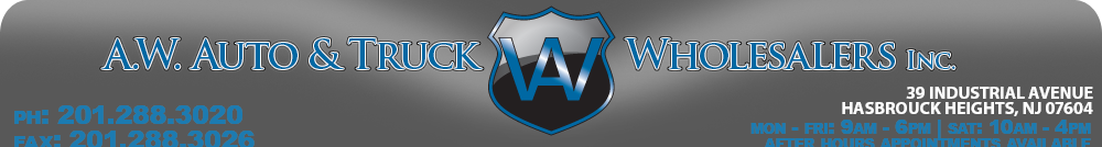 A.W. Auto & Truck Wholesalers  Inc. - HASBROUCK HEIGHTS, NJ