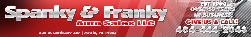 Spanky & Franky Auto Sales LLC - Media, PA