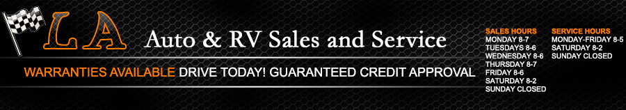 LA Auto & RV Sales and Service - Lapeer, MI