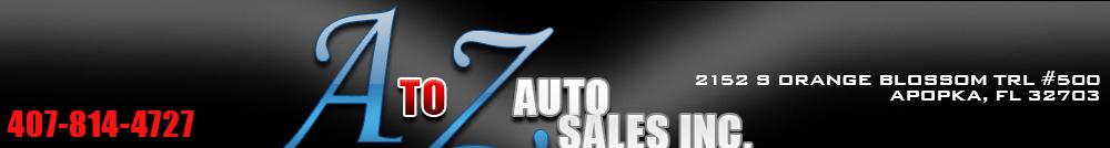 A To Z Auto Sales - Apopka, FL