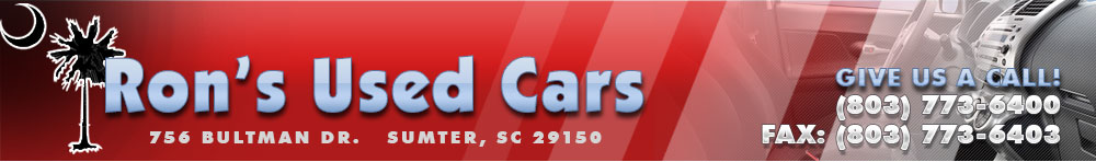 Ron's Used Cars - Sumter, SC