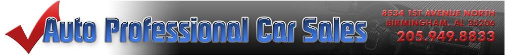 Auto Professional Car Sales - Birmingham, AL