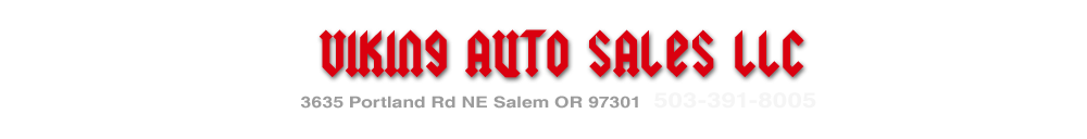 VIking Auto Sales LLC - Salem, OR