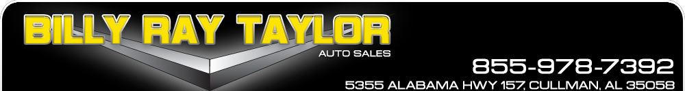 Billy Ray Taylor Auto Sales - Cullman, AL