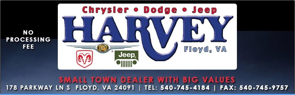 Harvey Chrysler Dodge Jeep Inc - Floyd, VA