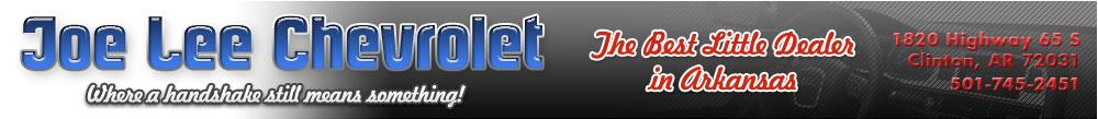 Joe Lee Chevrolet - Clinton, AR