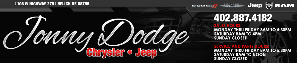 Jonny Dodge Chrysler Jeep - Neligh, NE