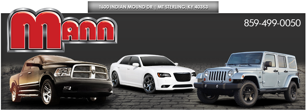 Mann Chrysler Used Cars - Mt Sterling, KY