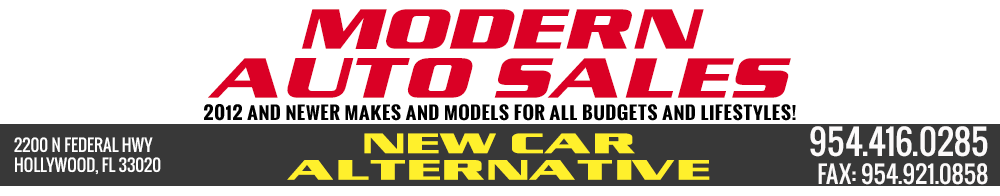 Modern Auto Sales - Hollywood, FL