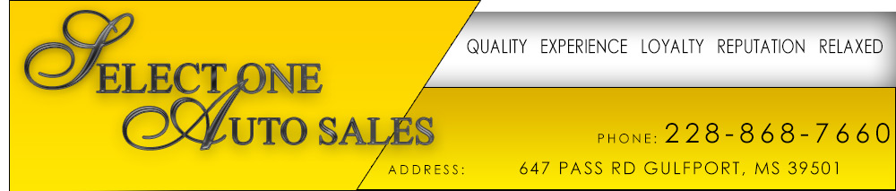 Select One Auto Sales - Gulfport, MS