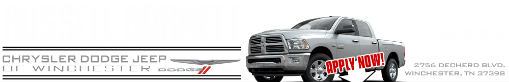 Russell Barnett Chrysler Dodge Jeep - Winchester, TN