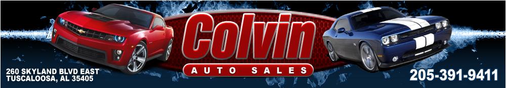 Colvin Auto Sales - Tuscaloosa, AL
