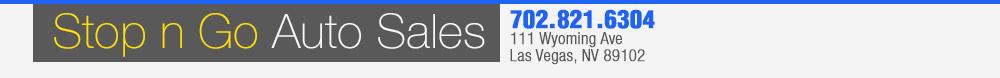 Stop N Go Auto Sales - Las Vegas, NV
