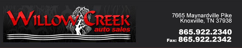 Willow Creek Auto Sales - Knoxville, TN