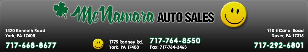 McNamara Auto Sales - York, PA