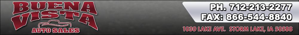 Buena Vista Auto Sales - Storm Lake, IA
