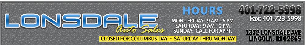 Lonsdale Auto Sales - Lincoln, RI