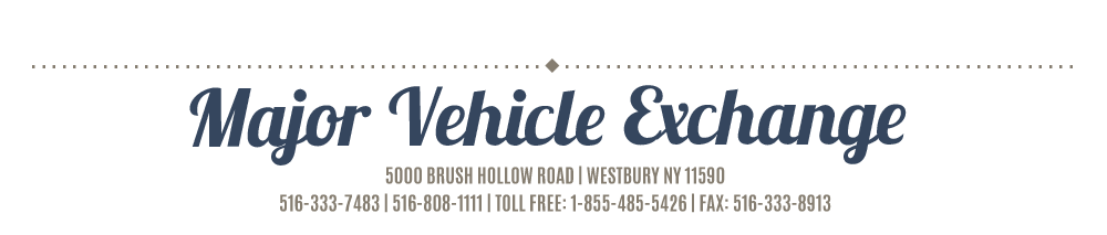 Major Vehicle Exchange - Westbury, NY