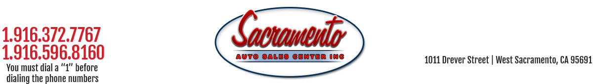 Sacramento Auto Sales Center Inc - West Sacramento, CA