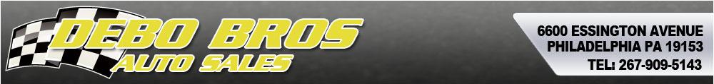 Debo Bros Auto Sales - Philadelphia, PA