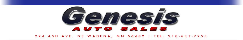 Genesis Auto Sales - Wadena, MN