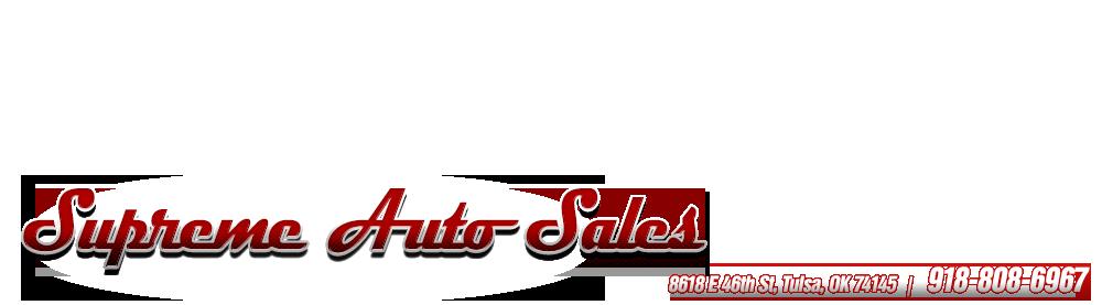 Supreme Auto Sales - Tulsa, OK