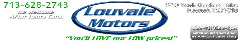Louvale Motors L.L.C. - Houston, TX