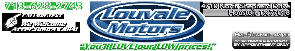 Louvale Motors L.L.C. - Houston, TX